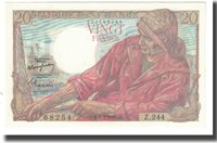 20 Francs Frankreich Pêcheur, P Rousseau and R Favre-gilly, 1950-02-09
