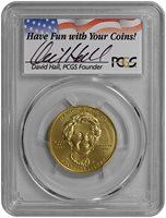2016-W $10 Gold Nancy Reagan (PCGS-MS70 - First Strike)