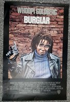 BURGLAR 1987 Whoopi Goldberg Bobcat Goldthwait G.W. Bailey One Sheet Poster GVG