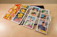 LOT OF THREE 1989 TOPPS BASEBALL CARDS RACK PACKS UNOPENED NEW