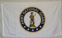 NEW 3'x5' ARMY NATIONAL GUARD Minutemen at the Ready Polyester Flag