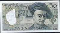 50 Francs 1979 France Quentin de la Tour V 017