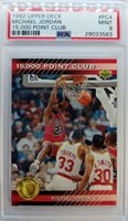 1992 92-93 Upper Deck 15000 Point Club Michael Jordan #PC4, Rare Insert PSA 9