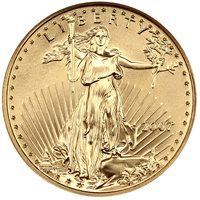 2007 Gold Eagle $25 NGC MS70 (Early Releases)