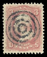 #65 Used PSE Graded 80 w/S.O.N. Target Cancel, Cert # 01305631