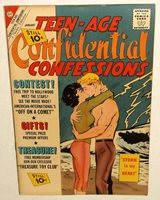 Charlton TEEN-AGE CONFIDENTIAL CONFESSIONS romance comic JAN 1962 10 cent EXC