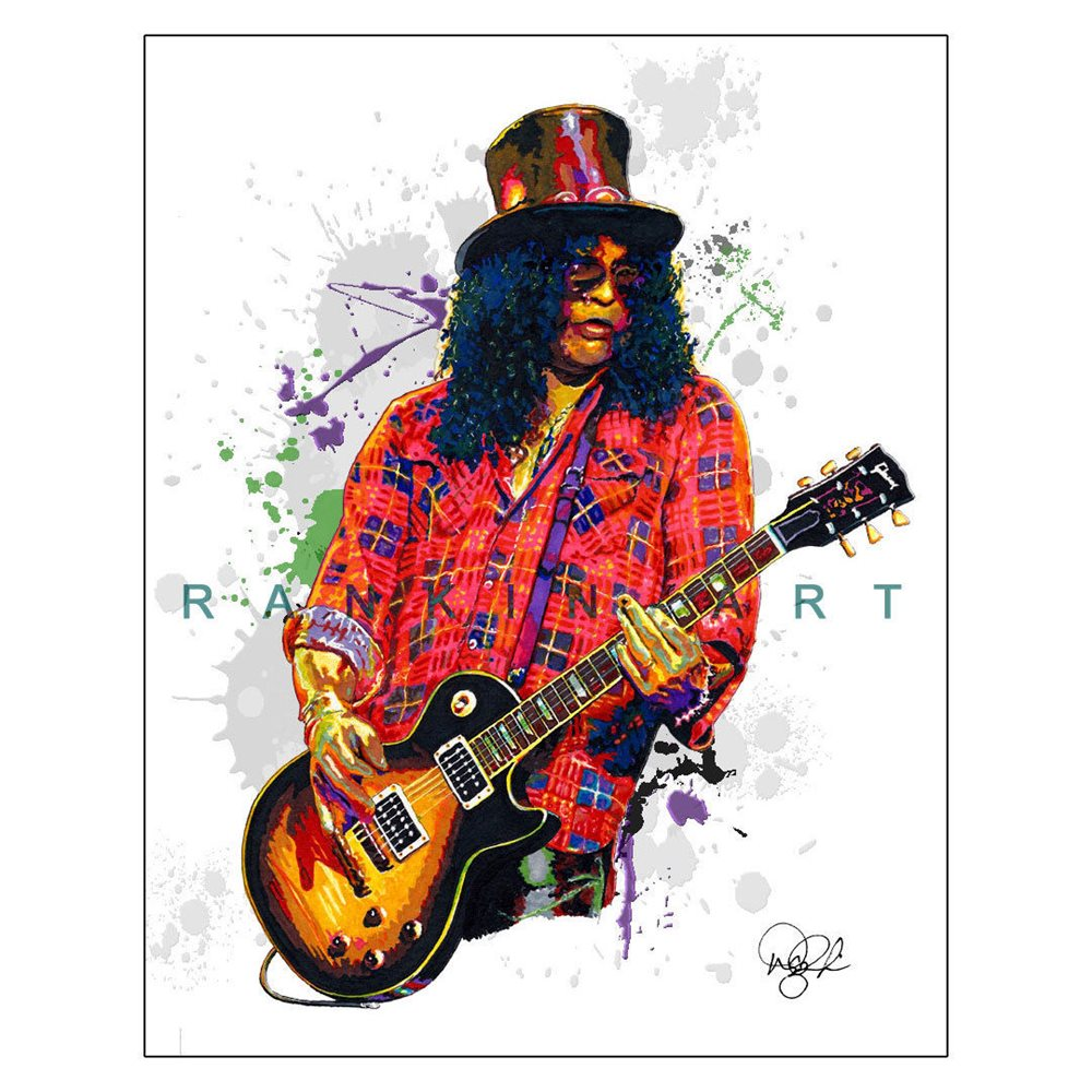 "Slash Guns N/' Roses Velvet Revolver 11x14/"" Music Guitar Art Print Poster"