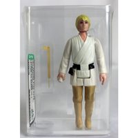 1977 Kenner Vintage Star Wars Loose Luke Skywalker Action Figure (Letter on Saber Hilt) AFA 75+ EX+/NM #18338708