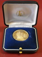 1978 100Dr. Silver Coin 50th Anniversary of BoG in Rare Case of Issue.