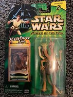 Star Wars Power of The Jedi Fode and Beed Podrace Announcers Figure NIP (13H)