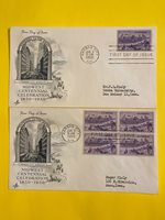 STAMPS FIRST DAY MIDWEST 3C FREE SHIPPING