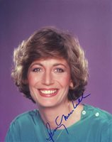 Penny Marshall in-person autographed photo Uncommon color photo of this American actress and director whose work includes: The Odd Couple, Happy Days, Laverne & Shirley, Hocus Pocus, Special Delivery, Everybody Wants to Be Italian, Alice Upside Down and Blonde Ambition.