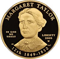 2009-W Margaret Taylor $10 NGC Proof 70 DCAM