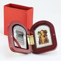 Andorra 15 dinar Madonna under an Apple tree Lucas Cranach 50 g silver coin 2013