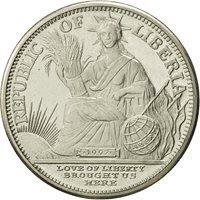 Liberia, 5 Dollars, Pig, 1997, MS(64), Copper-nickel, KM:362