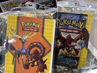 Pokemon XY Steam Siege Collector Album and Booster Pack