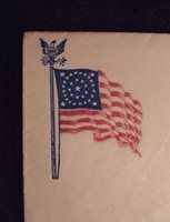 #12790 - Union Patriotic Envelope Flag from NYC maker