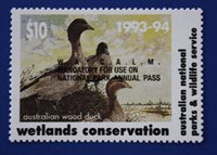 Australia (AD05W) 1993 Australian Wetlands Conservation Stamp (MNH)