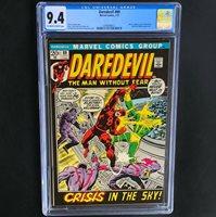 Daredevil #89  CGC 9.4 OW/W  Electro & Black Widow App! Marvel Comics 1972