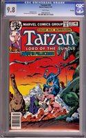 Tarzan #22 CGC NM/M 9.8 White