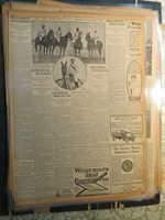 Polo Sports Newspaper 1913 HORSE POLO NEW NTEAM DEFEND INTERNATIONAL CUP
