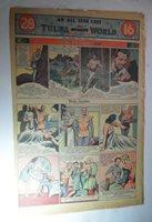 FLASH GORDON JUNGLE JIM JAN 6 1941 FULL PAGE SUNDAY COMIC ALEX RAYMOND