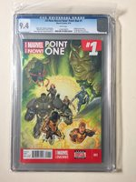 ALL-NEW MARVEL NOW POINT ONE #1 Variant Comic Cover CGC Graded 9.4 Kamala Khan