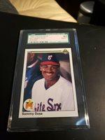 1990 Upper Deck Sammy Sosa Rookie Sgc 92 Chicago White Sox