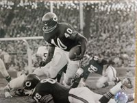 GALE SAYERS 1969 CHICAGO BEARS 8x10 PHOTO