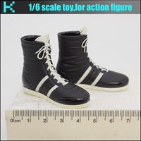 L05-59 1/6 scale Fight club- Boxing shoes/boots (hollow)