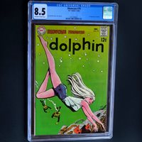 SHOWCASE #79 (DC 1968)  CGC 8.5 OW-W  1ST APPEARANCE OF DOLPHIN! KEY