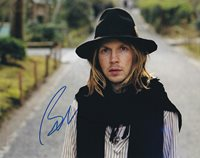 Beck in-person autographed photo Great Color photo autographed by this American musician, singer-songwriter, and multi-instrumentalist.