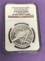 2015 Canada $20 WWII Battle of Britain NGC PF70 Ultra Cameo