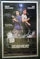 Dead Heat 1988 Treat Williams Joe Piscopo McGavin Vincent Price One Sheet Poster