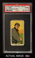 1909 T206 ON Ty Cobb Detroit Tigers (Baseball Card) (Resting a Bat on his Shoulder) PSA 2 - GOOD