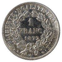 1 Franc 1872