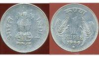 INDIA REPUBLIC INDE 1 rupée 1999 ( etat )