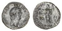 Nero (54-68), AR Denarius, 3.57g, Rome, 61-62, bare head right,...