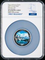 2019 Moraine Lake 30 Pure Silver Coin Canada Peter Mc