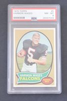 1970 Topps #5 Harmon Wages RC PSA 8 NM-MT
