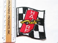 HARF Racing Patch , Hoosier Auto Racing Fan Patch