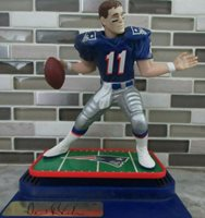New England Patriots Drew Bledsoe Kenner Starting Lineup Action Figure