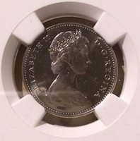 1965 Canada Five Cents NGC PL 66