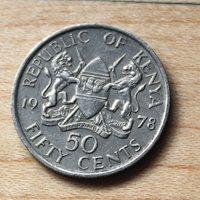 1978 Kenya 50 Cents