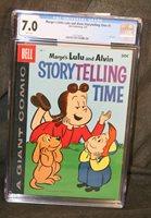 CGC Graded 7.0 Marge's Little Lulu & Alvin Storytelling Time #1 - CDN VARIENT