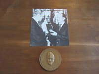 CHUCK YEAGER WITH PRES GERALD FORD SIGNED AUTO PHOTO & BRONZE MEDALLION JSA