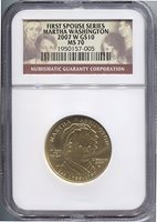 2007-W $10 Martha Washington Bullion NGC MS70 Bullion