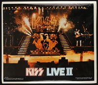 1977 Kiss Live II Putons Gene Simmons Peter Criss Ace Frehley Paul Stanley 8x10