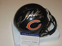 JARED ALLEN Signed Chicago BEARS Mini-helmet w/ ITP PSA COA