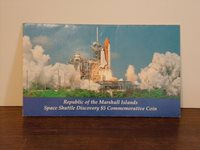Space Shuttle Discovery $5 Commemorative Coin - Republic of the Marshall Islands